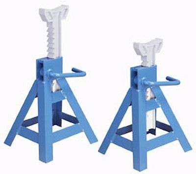 OTC 1774B 10-Ton Capacity Ratcheting Jack Stand - Pair