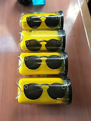 New Snapchat Spectacles Glasses Snap Chat SC Ghost All Triple Black WORLDWIDE