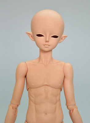 1/4 BJD doll woosoo elf Boy FREE FACE MAKE UP+FREE EYES - Tan skin