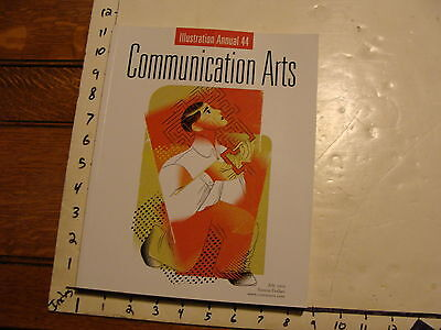 Vintage Magazine: COMMUNICATION ARTS 2003:  ILLUSTRATIONS ANNUAL #44, 214 pages