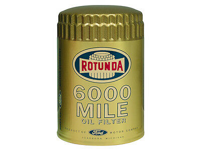 New 1961-66 Ford Oil Filter Gold Rotunda Fairlane Mustang Galaxie Falcon Bronco