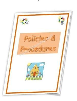 EYFS Childminder Policies and Procedures pack Childminding resource.