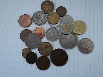 Lot of 20 Mixed world coins