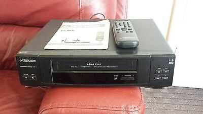 Ferguson Fvb 9 Video Cassette Recorder With Remote User's Manual