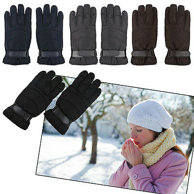 Windproof Touch Screen Gloves Men Thermal Winter Warm Motorcycle Ski Snow Gloves