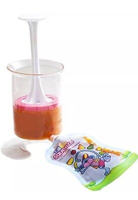 H@ NEW Fill n Squeeze Starter Pack (Pouch Filler and Squeezee pouches)