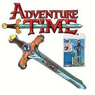 """NEW ADVENTURE TIME INFLATABLE FINN'S SWORD CARTOON NETWORK OFFICIAL TOY 24"""" 61cm"""
