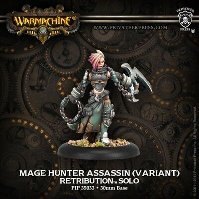 Mage Hunter Assassin Variant Warmachine Privateer Press New In Box PIP35033