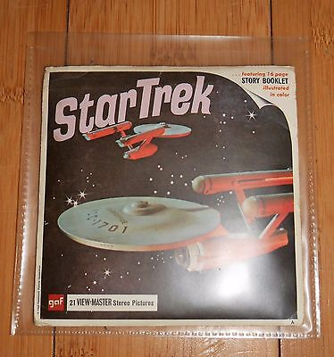 Star Trek Gaf View Master Reels Rare 100% Original Set Vintage 1968  B499