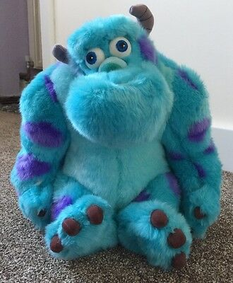 """Sulley Disney Monsters Inc Plush cuddly soft toy 12"""""""