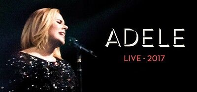 Adele Ticket to Brisbane Concert Saturday 4th March 2017