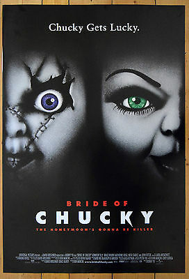 Child's Play Bride of Chucky 1998 Original One Sheet Film Poster