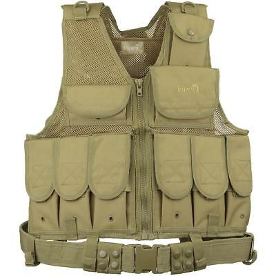 Military Style Tactical Special Forces Vest Coyote Viper LA Vest Airsoft Army