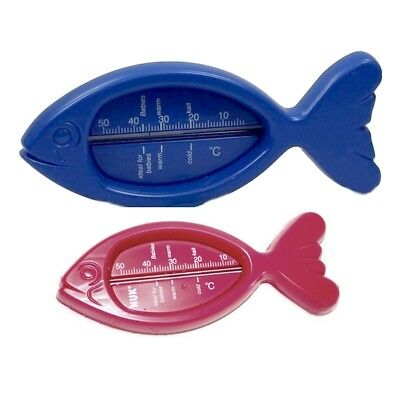NUK Badethermometer in Fisch-Form Badewannen-Thermometer Babythermometer