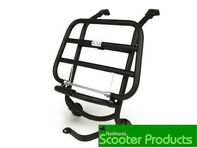 Fa Italia Matt Black Front Rack New Fits Vespa Gts 125 250 300