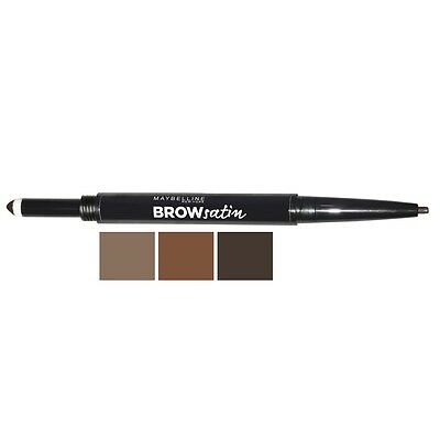 Maybelline  Brow Satin Duo Brow Pencil And Filling Powder Dark Blonde New Sealed