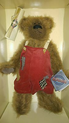 1998 Homespun St. Martin's Collection Teddy Bear Elton  Collectible 11765