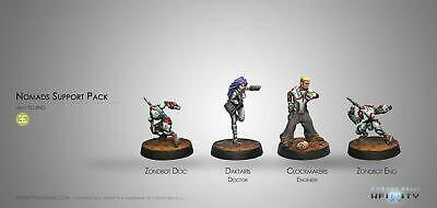 Nomads Support Pack Infinity Corvus Belli Brand New in Box 280554-0354
