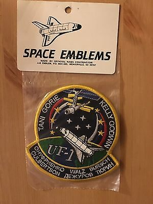 NASA STS-108 Mission Patch in Original Packaging