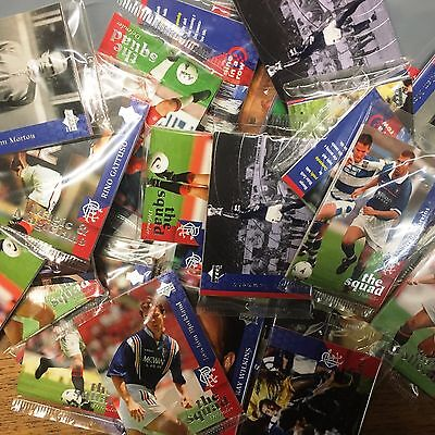 72 Packs x Rangers FC Trading Card Collection New Inner Packs 1998 Upper Deck