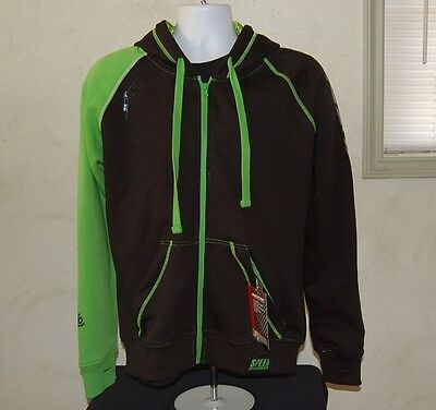 Speed and Strength Men's United by Speed Armored Hoody Green & Black