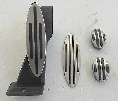 Genuine Used MINI Manual Silver Pedal Set for R56 R55 R60 F55 - 6770152 #4