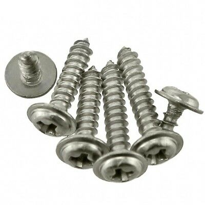M2 M2.3 M3 M4 Flanged Pan Washer Head Phillips Self Tapping Screws 304 Stainless