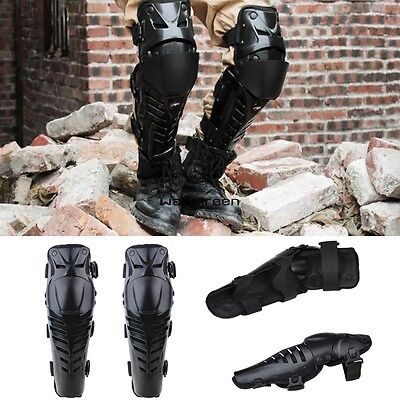 New Pair Motorcross Racing Motorcycle Body Armor Knee Guard Pads Protection WN