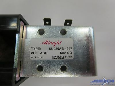 Albright Su280Ab-1327 60V Solenoid Switch Contactor 1500A At 48Vdc