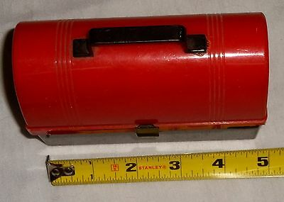 TOY PLASTIC LUNCH BOX AND THERMOS Made Late 1940's or Early 1950's VERY RARE