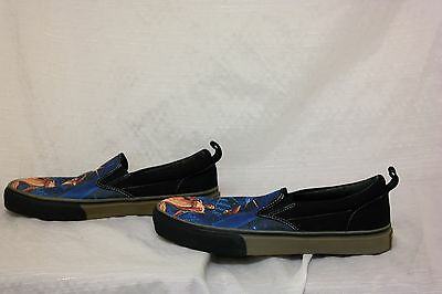 SKECHERS STAR WARS A New Hope Mens Canvas Black Loafers Shoes 6G ... 540d621b0