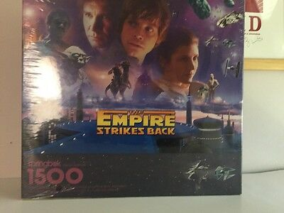 The Empire Strikes Back Jigsaw Puzzle Springbook 1500 pc 1997 Edition Sealed New