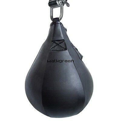 Speedball Training Boxing Punching Bags Fitness Exercise Speed Bag Muay Thai WN