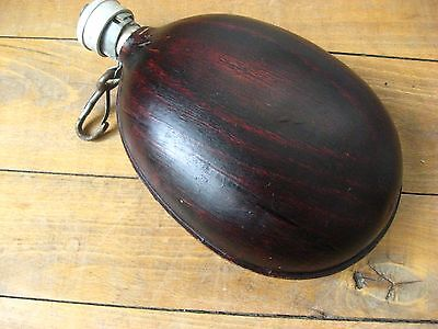 "Vintage WW2 ""Coconut"" Canteen Flask  Military Army Collectable"