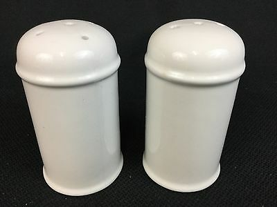 Wedgwood Stonehenge Midwinter White ONE Salt and ONE Pepper Shaker