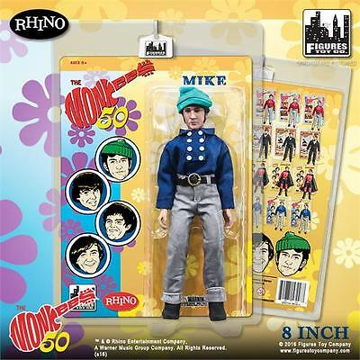 The Monkees; Blue Band Outfit; Mike Nesmith ; 8 Inch Action Figure Licensed New