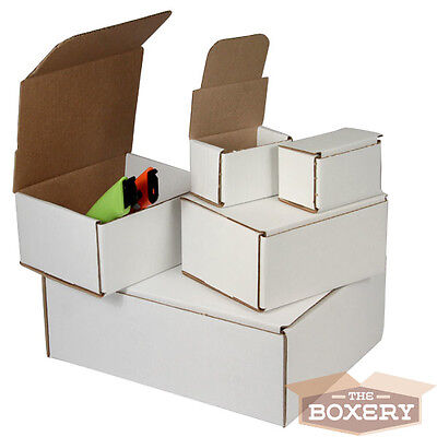 """4 x 4 x 4"""" Corrugated Shipping Mailers from The Boxery 50/pk"""