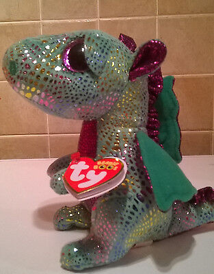 Ty Beanie Boo's Cinder the Dragon 6 inch plush toy