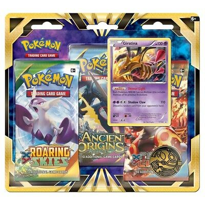 Pokemon XY - Fates Collide 3-Booster Blister Pack, Giratina