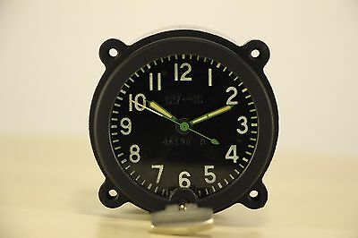 Good! 127-ChS Clock for the Soviet tanks MADE in USSR AChS, Aircraft, MIG