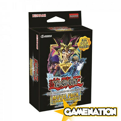 Yu Gi Oh! - The Dark Side of Dimensions Movie Pack Gold Edition