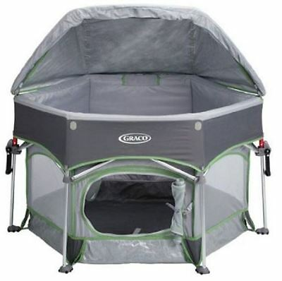 Graco Playpen For Babies Kids Toddlers Outdoor Portable Bed Sleeper Travel Lawn