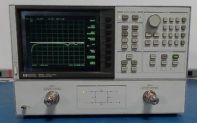 Agilent/Keysight/HP  8720A Network Analyzer 130MHz-20GHz with LCD Screen Tested