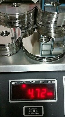 4.7lbs pounds of Hard drive platters for Platinum recovery make an offer