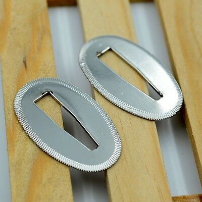 Silver Seppa Sword Spacer Washer for Japanese Samurai Sword maintainence 2 Pcs