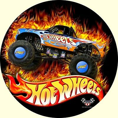 Tortenaufleger Hot Wheels Auto Monster Truck DVD NEU Dekoration Tortenbild