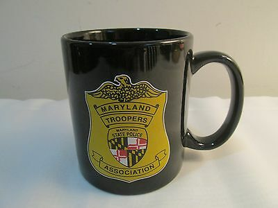 Maryland Troopers State Police Association Coffee Mug Distributed to Troopers