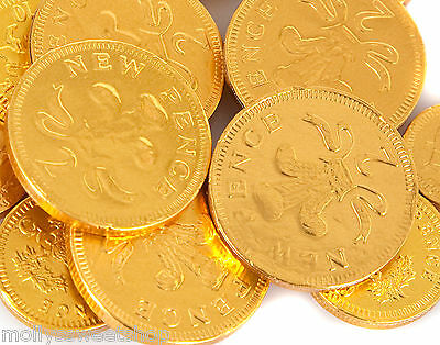 Gold Chocolate British Coins 1kg (135) Parties Party Bags Wedding Events Money