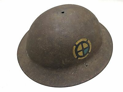 WW1 US Military 35th Division Helmet