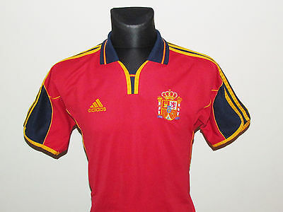 Adidas Jersey Spain Home Shirts 1999-01 Size S
